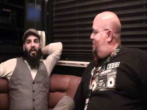 Jesse Leach of Times of Grace interview with Groovey.tv