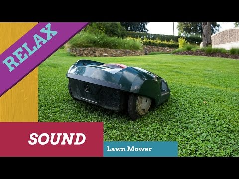 Relaxing sound of Lawn Mower,Engine Lawn Mower,Grass,White Noise