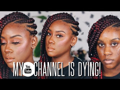 My Youtube Channel is DYING!!!! Get Ready With Me Chat!