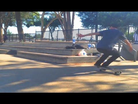 Fakie Bigger Flip to Backside Tailslide!! - WTF - Ryan Ashburn