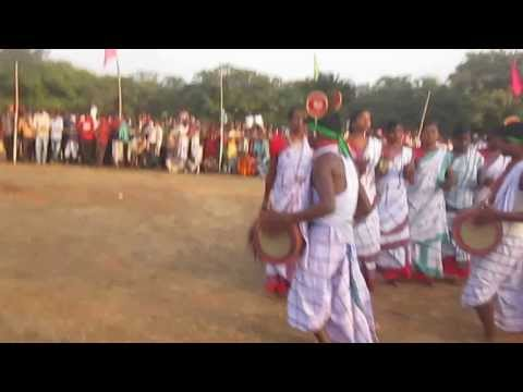 Siver Jubilee 2014. Santali Traditional Dance, Kundulia, Mayurbhanj,odisha video