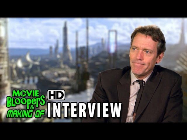 Tomorrowland (2015) Behind the Scenes Movie Interview - Hugh Laurie (Nix)