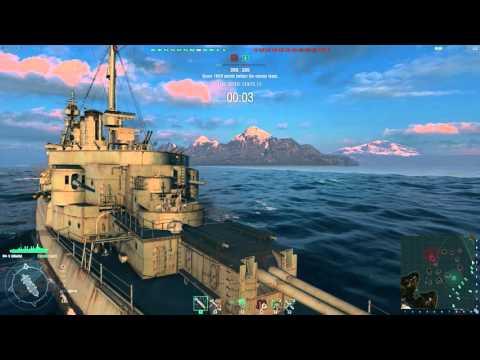 World of Warships - Omaha and Murmansk
