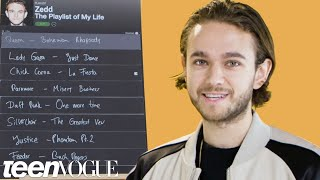 Zedd Creates The Playlist of His Life | Teen Vogue