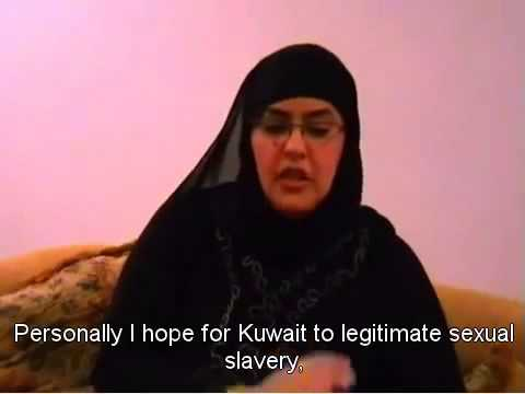 """Muslim"" Woman wants  Christian Women Sex Slaves for Muslim Kuwait men"