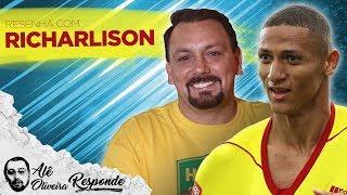 """RICHARLISON: """"QUERIA IR PRO PALMEIRAS DISPUTAR A LIBERTADORES"""" - ALÊ OLIVEIRA RESPONDE #43"""