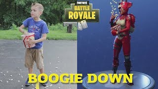 Twin vs Twin:  Fortnite Dance Challenge In Real Life 3