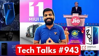 Tech Talks #943 - Jio Not Free, X2 Pro in India, MIUI 11, Oppo Reno Ace, Toyota e-Palette, Apple