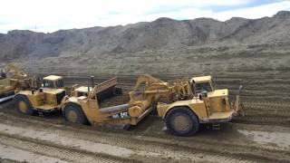 Self Loading vs Push Pull | Caterpillar 657