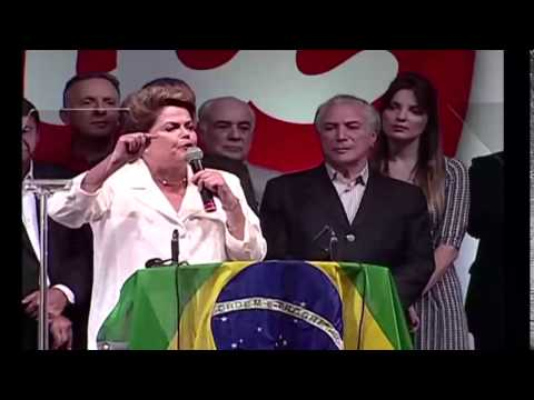 Presidenta Dilma Rousseff é reeleita, em disputa apertada