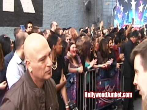 AMERICA'S GOT TALENT: Season 7-Red Carpet Howard Stern, Judges!