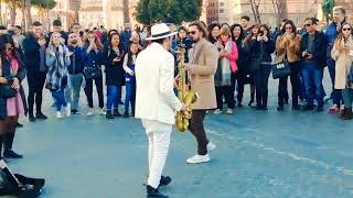 Download lagu Daniele Vitale Sax - Dance monkey