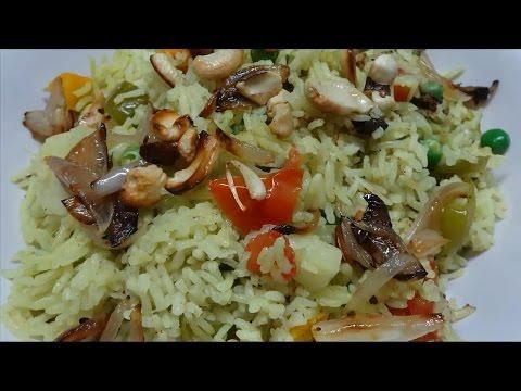 Vegetable Pulao (వెజిటబు�...