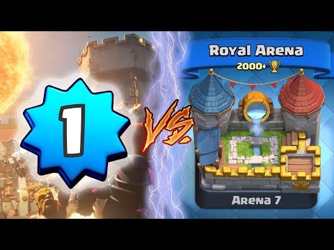 INSANE LEVEL 1 TROLLING HIGHER LEVELS?!   Clash Royale   *FUNNY MOMENTS* (The Level 1 Troll #15)