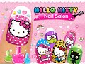 "Hello Kitty Nail Salon ""Unlock All + No ADS"" Android İos  Free Game GAMEPLAY VİDEO"