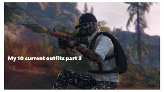GTA 5 ONLINE MY 10 CURRENT OUTFITS PART 3 :)