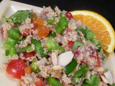 Cracked Wheat (Daliya) Salad - Healty Indian Food Recipes