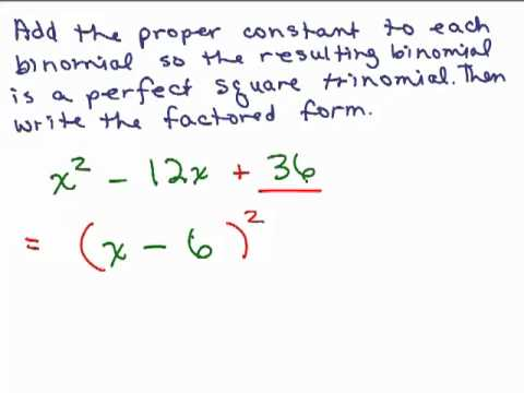 Completing the Square 1 -aOS6OfB5-9o