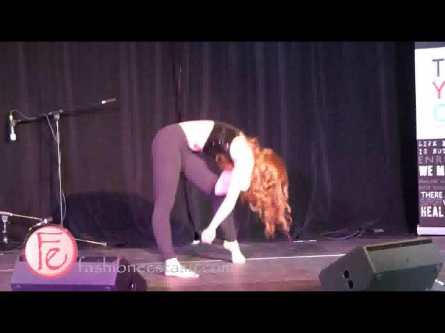 Jordan Clark winner of So You Think You Can Dance Canada Season 4 performs at The Youth Code