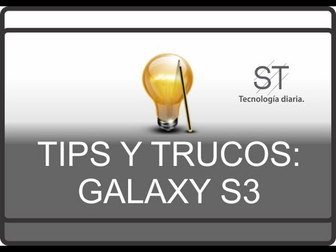 Tips y Trucos: 4.1.2 Jelly Bean Galaxy S3 [ Parte 1 ]