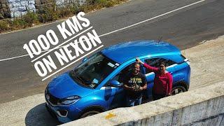 1000 kms on NEXON
