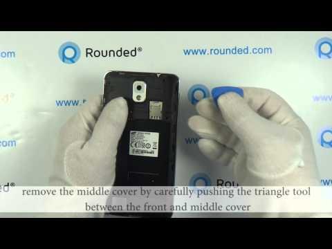 Samsung Galaxy Note 3 i9005 repair. disassembly manual. guide
