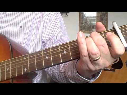 Open D Guitar Tutorial - Paul McIlwaine