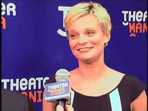Martha Plimpton Backstage at the 2007 Drama Desk Awards Video