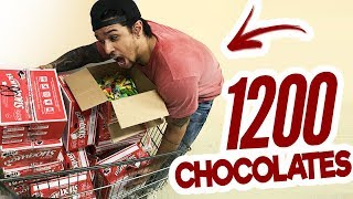 COMPREI 1200 CHOCOLATES E FIZ A MELHOR COISA DA MINHA VIDA!