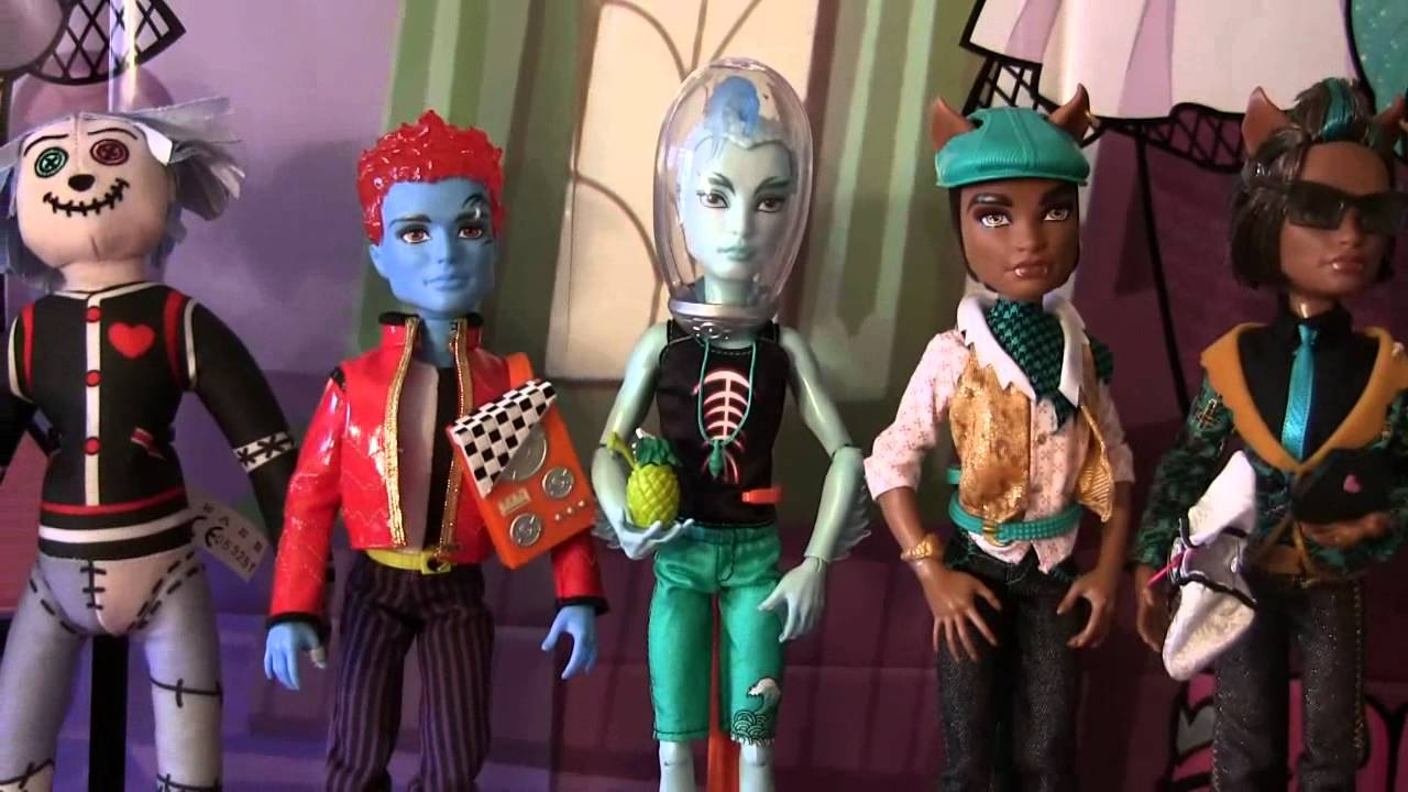 Collection Dolls Monster High Monster High Boys Collection