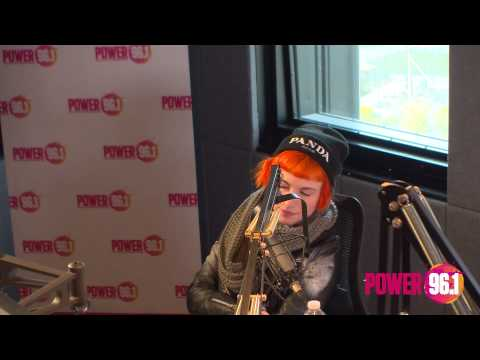 Hayley Williams chat with Power 96.1