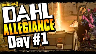 Dahl Allegiance Zane Day #1 | Funny Moments & Legendary Loot [Borderlands 3]