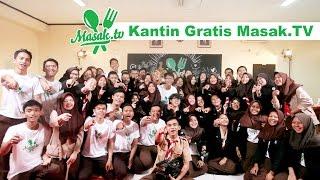 Kantin Gratis Masak.TV di SMKN 30 Pakubuwono