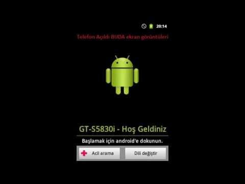 Galaxy Ace (S5830i) Brick Olan Telefonu Odinle kurtarma. Brick Olan Telefonlarınız veya Hatalı bir i�lem sonucu samsung yazısında kalan açılmayan telefonlar ...
