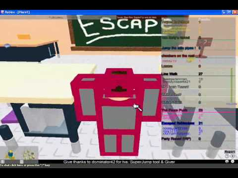 Let's Play Roblox: Escape From School Obby!