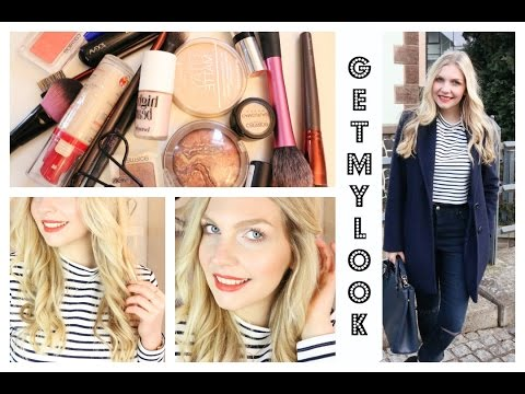 STYLING ROUTINE | Make Up Haare Outfit | #GETMYLOOK