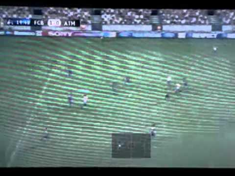 Pes 2012 Ser Una Leyenda (Atletico De Madrid Vs Barcelona) UEFA Champions League vuelta