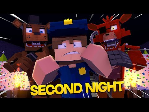 Minecraft Fnaf: First Location - Security Guards Second Night (Minecraft Roleplay)
