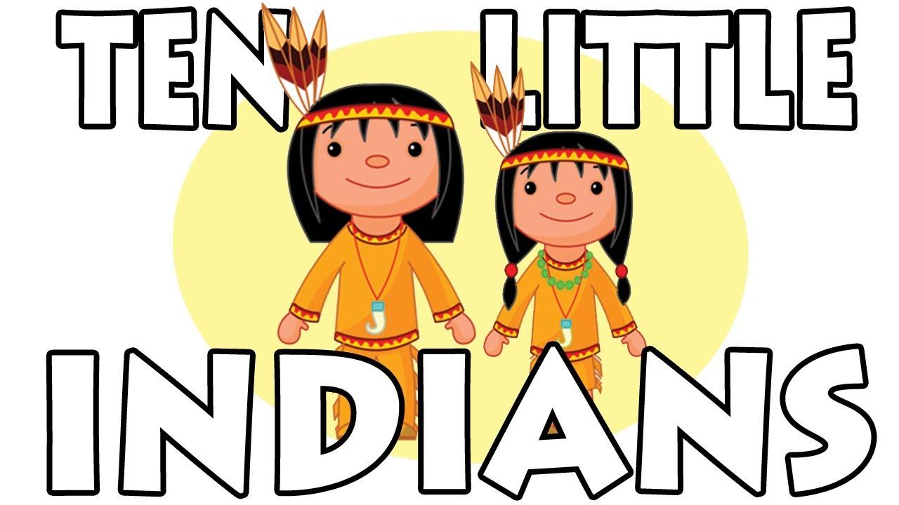 Ten Little Indians – Nursery Rhyme Song Lyrics