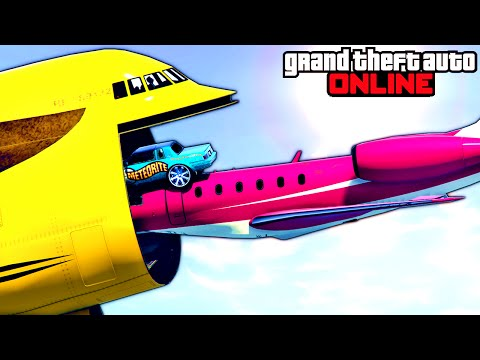 GTA 5: Online - Stunts, Funny Moments & Fails Compilation Feat. New DLC Vehicles