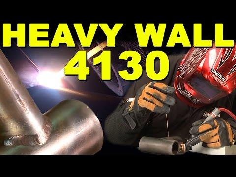 TIG Welding Heavy Wall 4130 Chrome Moly