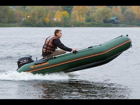 лодки пвх колибри видео и моторы