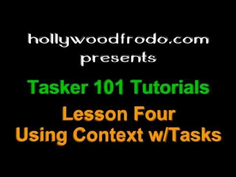 Tasker 101 Tutorial: Lesson 4 - Adding Context to a task (Android Automation)