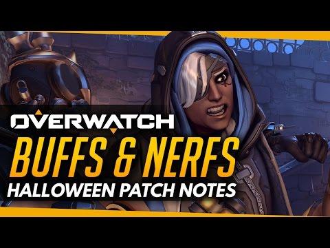 Overwatch | BUFFS and NERFS - Halloween Patch News