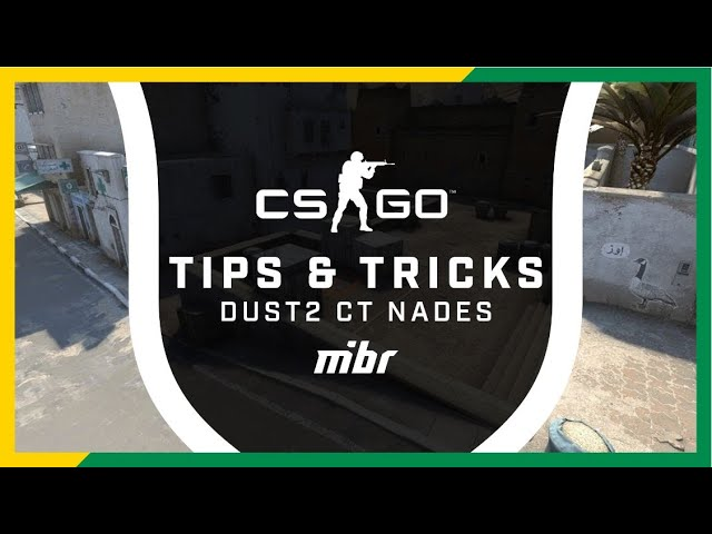 Granadas Básicas na Dust2 | Tips + Tricks
