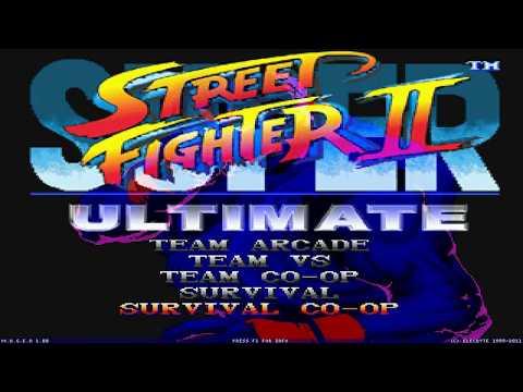 [MUGEN FULLGAME] Super Street Fighter II Ultimate BETA By Luis, Zadkiel, Joseph W. & David Rojas