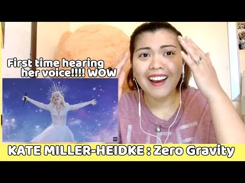 KATE MILLER HEIDKE  - Zero Gravity (Eurovision 2019)  || FRIST TIME REACTING