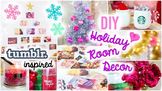 DIY Holiday Room Decor ♡ Easy & Simple Ideas!