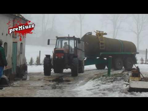 Zima Vs URSUS-1614TURBO--Ryk silnika