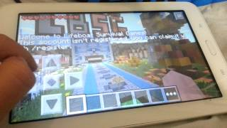 Minecraft pocket edition hunger gamese girme